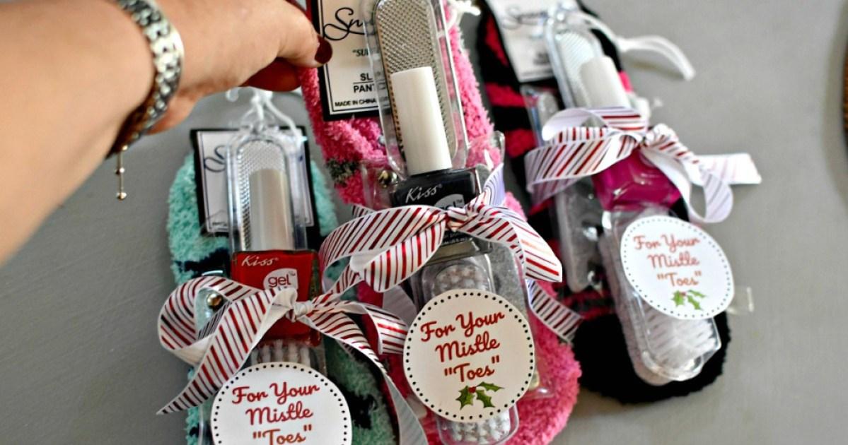dollar tree manicure gift idea