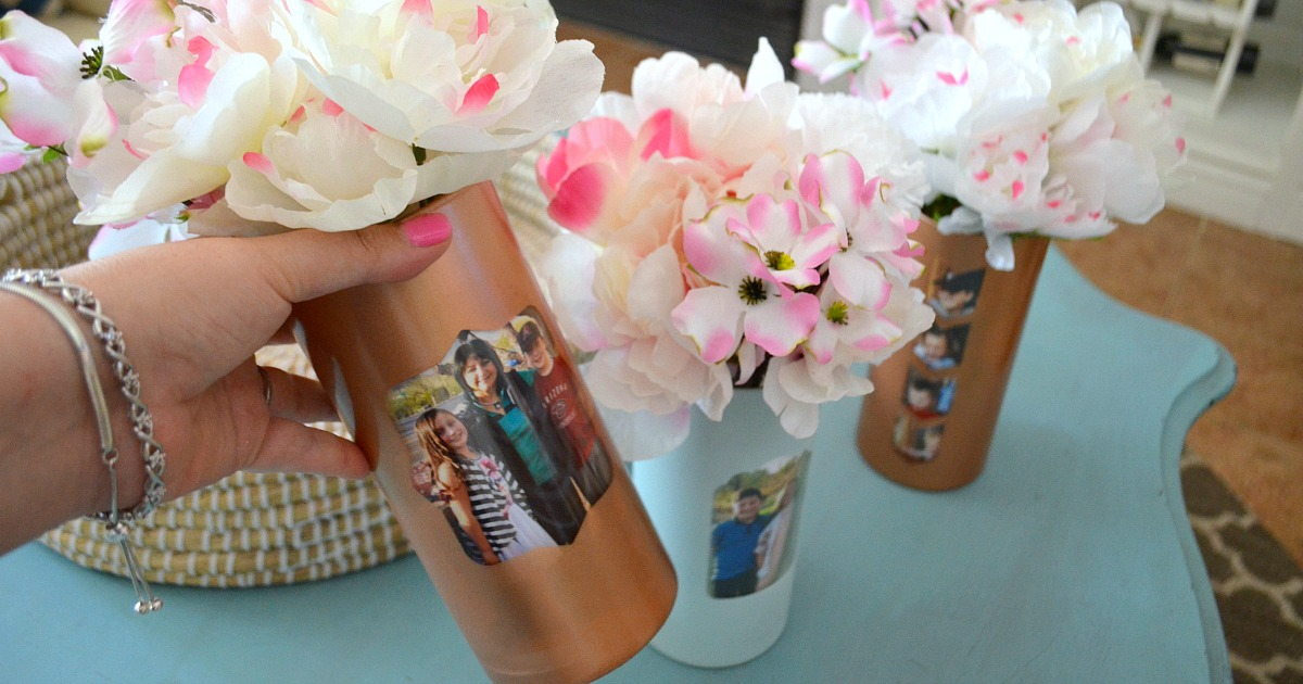 mother's day dollar tree vase for gift guide