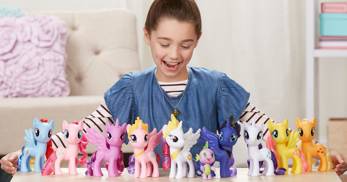 NEW My Little Pony Friends of Equestria Collection Set of 11 Figures Kids Gift!