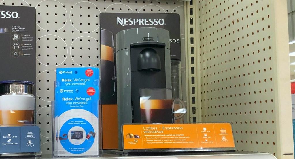 gift guide for coffee lovers — nespresso vertuoplus instant espresso maker
