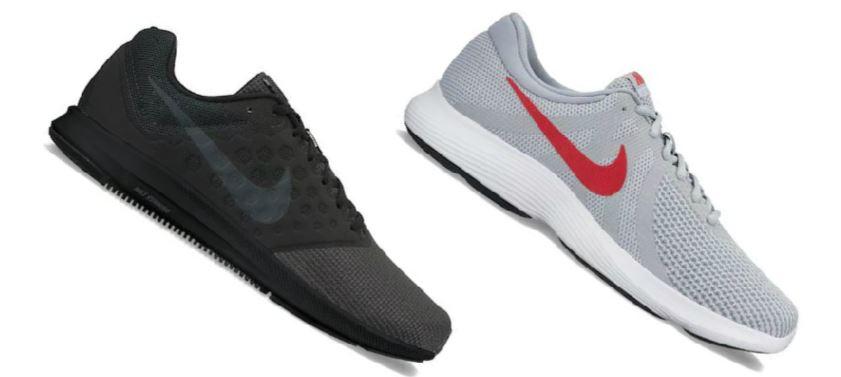 kohl's nike running shoes