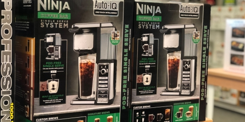 Ninja Coffee Bar Single-Serve System Just $59.49 Shipped + Earn $15 Kohl's Cash