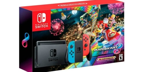 Nintendo Switch Mario Kart 8 Deluxe Console Bundle Only $299.99 Shipped