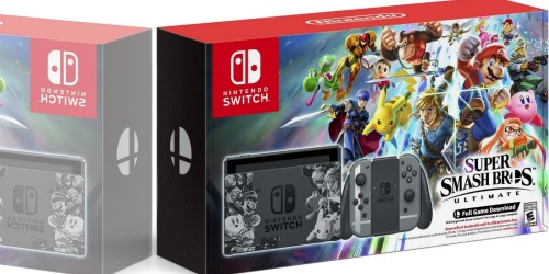 Military Exchange: Nintendo Switch Super Smash Bros Ultimate Bundle as Low as $299 Shipped