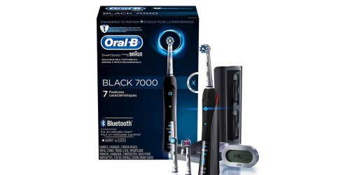 $100 Off Oral-B 7000 Rechargeable Electric Toothbrush at Amazon (Today Only)