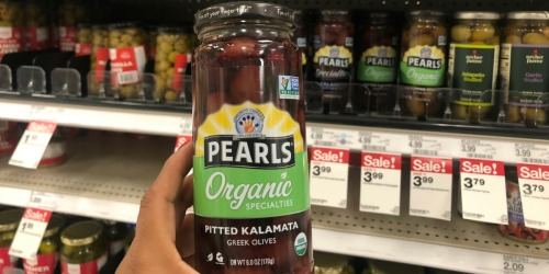 Pearls Specialties Olives Just $1.99 After Cash Back at Target (Regularly $5)
