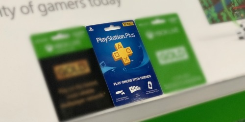 Sony PlayStation Plus 12-Month Digital Membership Only $39.99 (Regularly $60)
