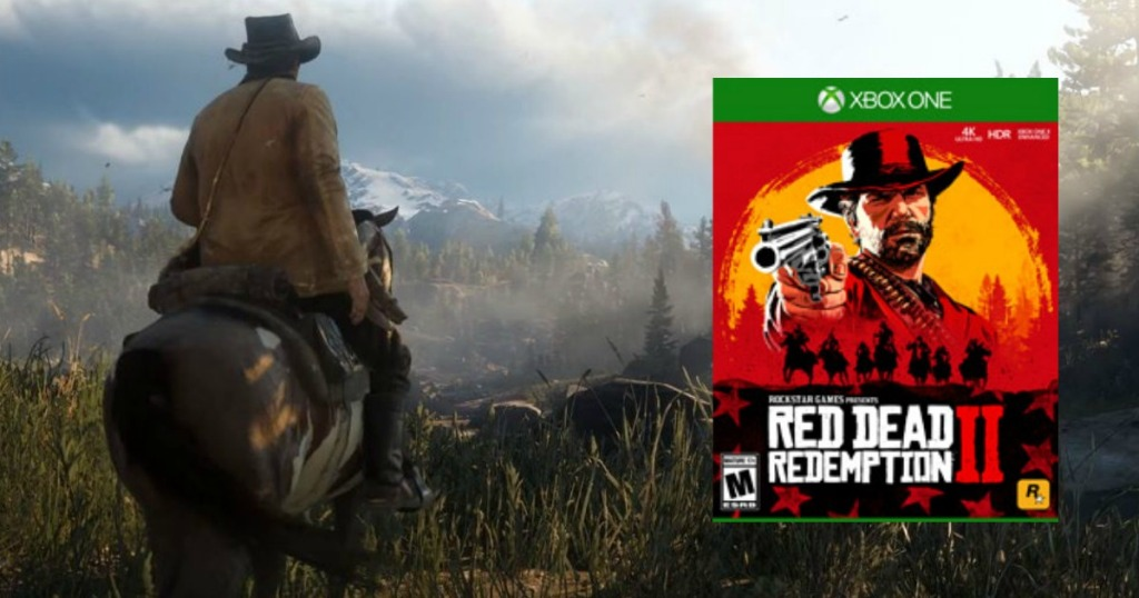 Red Dead Redemption 2 Xbox One Game + $10 Xbox eGift Card as