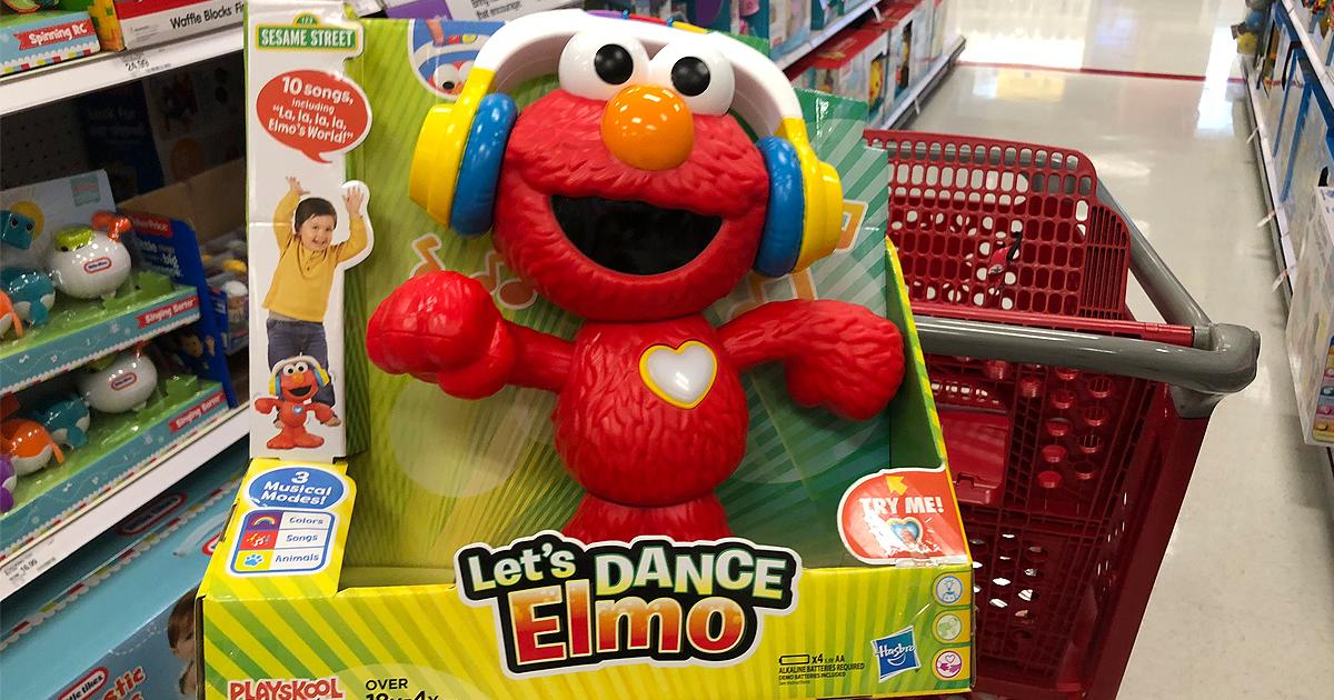 Sesame Street Let S Dance Elmo Only 22 49 Regularly 40 At Target