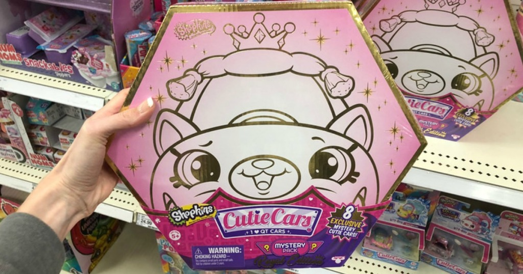 Shopkins Cutie Cars Royal Edition Mystery Set Just $29.99 ...
