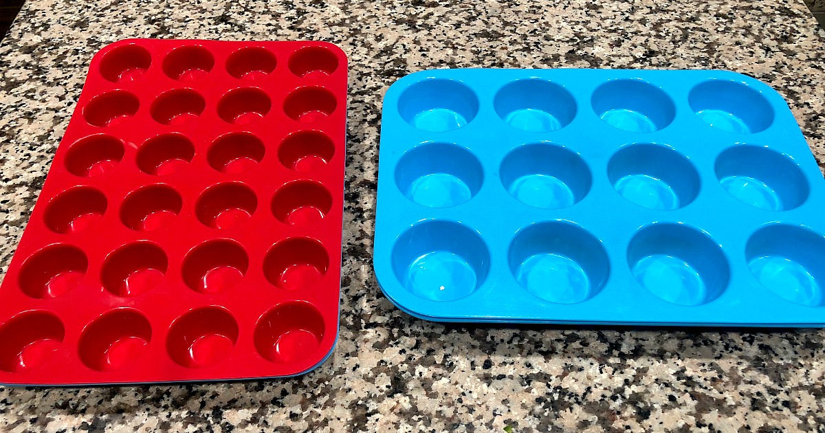 baking silicon muffin pans review tips – silicon regular and mini muffin baking pans