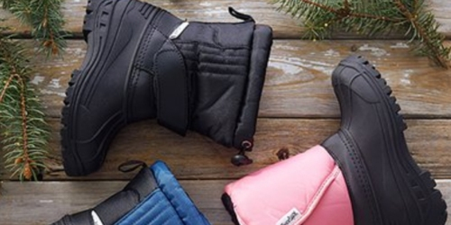 Up to 60% Off Kids Snow Boots On Zulily