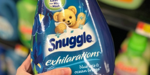 Snuggle Exhilarations Large Bottles Only $3.49 Each After Target Gift Card