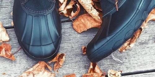Sperry Men's Waterproof Duck Boots Only $38 on Nordstrom Rack (Regularly $90)