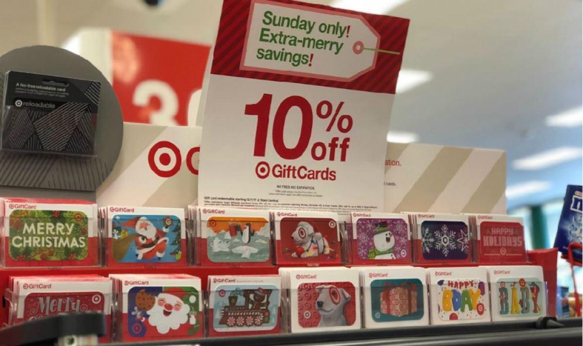 target gift card sale