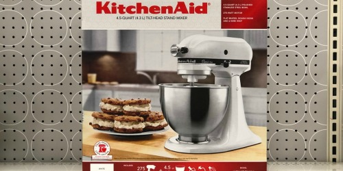 Target: KitchenAid 4.5 Quart Stand Mixer Only $142.49 Shipped (Regularly $260) + More