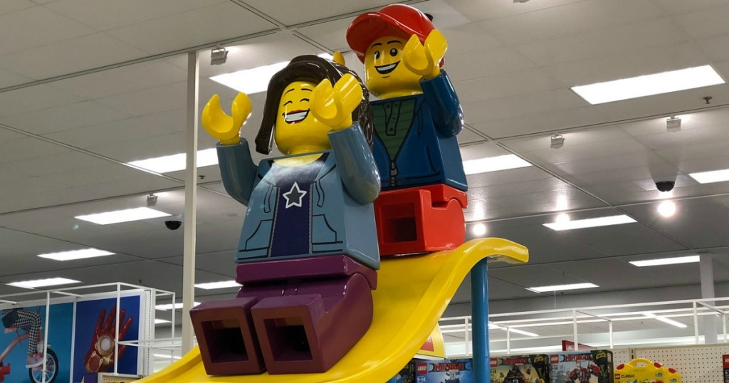 lego display at target