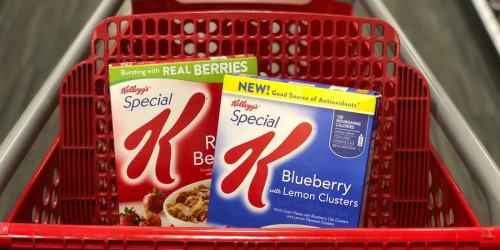 Special K Cereals Only 75¢ Each After Target Gift Card (Starting 12/30)