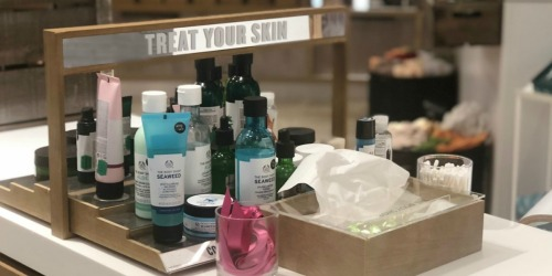 SIX The Body Shop Beauty Products + Tote Only $39 Shipped ($107 Value)