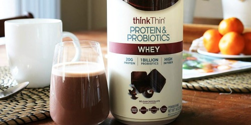 thinkThin Protein & Probiotics Whey Powder as Low as $5.99 Each Shipped