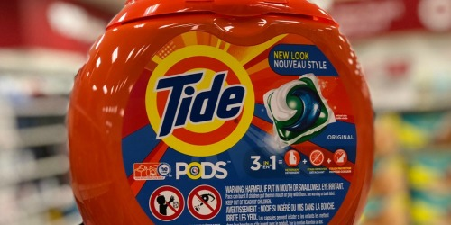 Tide PODS 81-Count Tubs Just $15.97 Shipped on Amazon