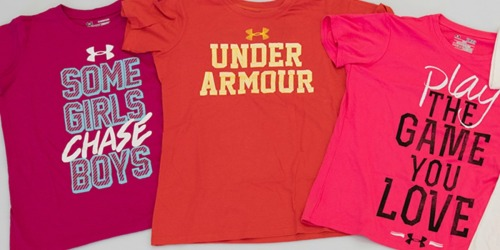 THREEUnder Armour Girls Shirts Only $25 Shipped (Regularly $50)