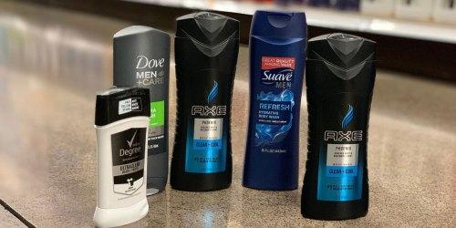 Easy Savings on Men's Suave & Dove at Kroger