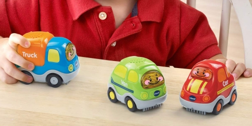 Amazon: VTech Go! Go! Smart Wheels Everyday Vehicles 3-Pack Just $14.75 Shipped