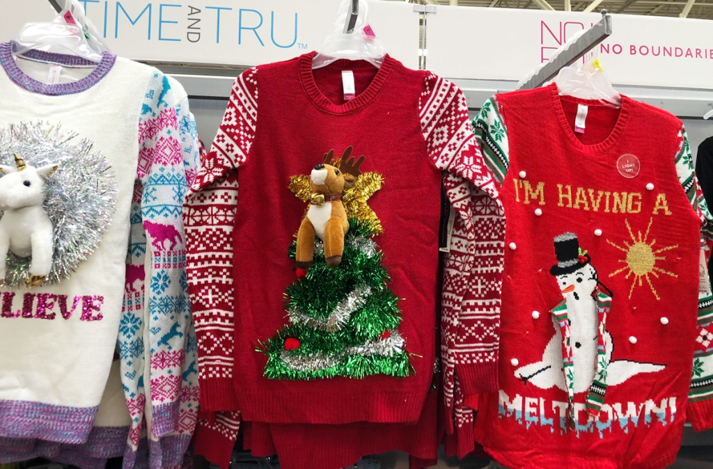 Ugly Christmas Sweaters Now Available At Walmart In Stores Online