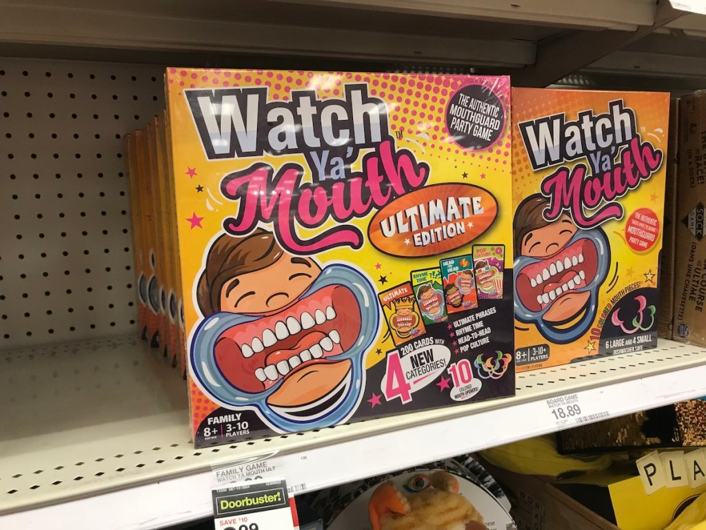 watch ya mouth ultimate edition on shelf at Target