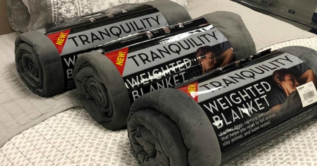 Tranquility Weighted Blanket Only 52 Shipped At Target