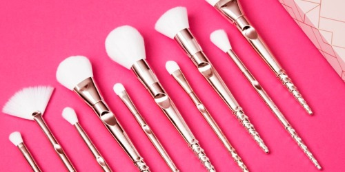 50% Off Wet n Wild 10-Piece Makeup Brush Set at Walgreens.com