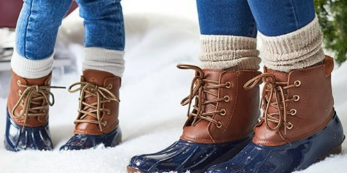 Macy's: The Original Duck Boots Women's Booties Just $19.99 (Regularly $69) – Black Friday Pricing