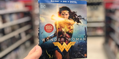 Blu-ray + DVD Movies as Low as $3.99 Shipped (Wonder Woman, Hidden Figures & More)