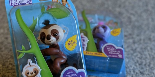 TWO WowWee Baby Sloth Fingerlings Only $8.84 at Walmart.com (Just $4.42 Each)