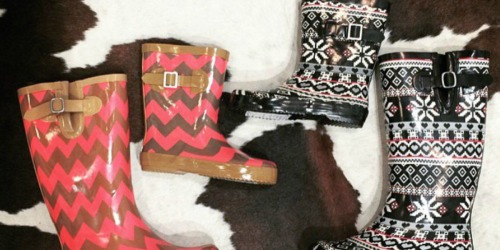 Up to 65% Off Rain Boots for the Family at Zulily