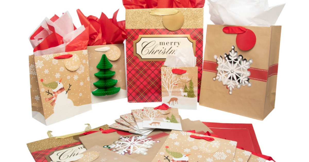 Christmas Gift Bags Ideas.20 Hallmark Christmas Gift Bag Sets Just 16 Shipped Only