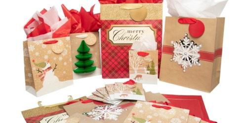20 Hallmark Christmas Gift Bag Sets Just $16 Shipped (Only 80¢ Per Gift)