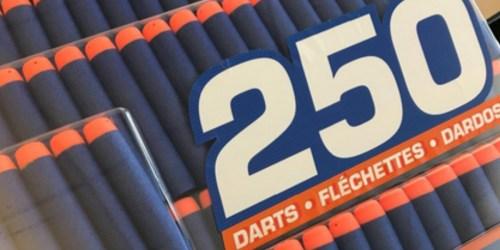 NERF N-Strike Elite 250-Count Dart Pack Only $9.88 (Regularly $35)