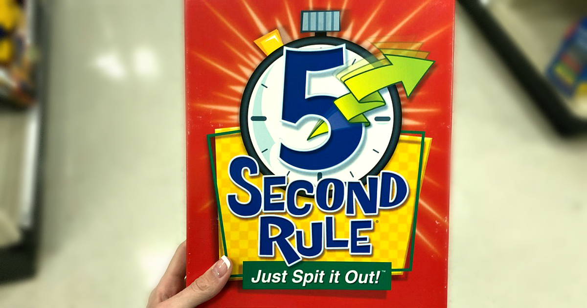 best board card games kids adults families – 5-Second-Rule