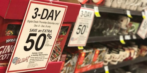 Kroger & Affiliate Shoppers: 50% Off Holiday Pajamas, Candy, Home Goods, & More