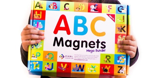 Amazon: ABC Magnets Mega Bundle Gift Set Only $15.99 Shipped (Regularly $35)