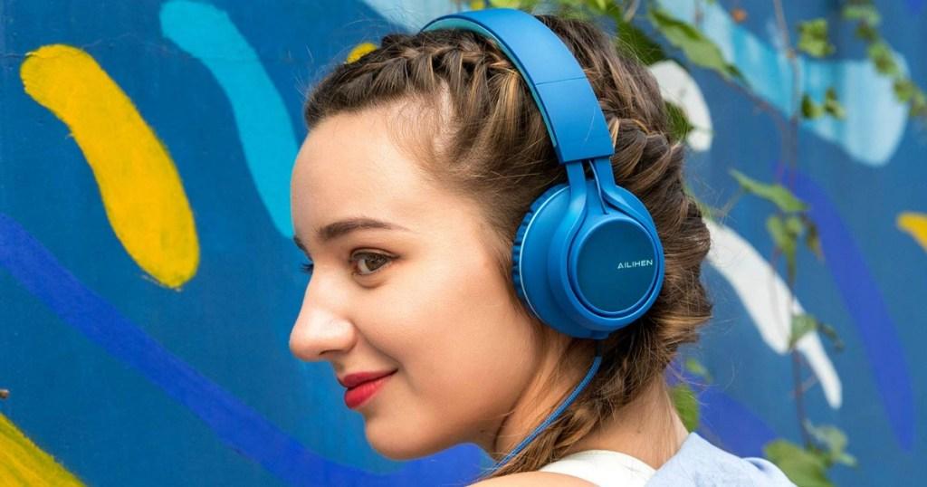 AILIHEN foldable headdphones