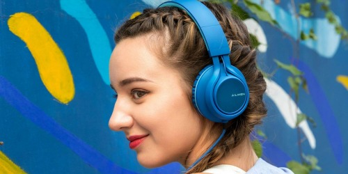 Foldable Wired Headphones Only $9.99 on Amazon | Multiple Color Choices