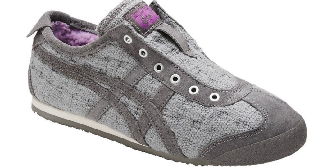 best service 0ec0e 49dd7 ASICS Onitsuka Tiger Women s Mexico 66 Slip-On Shoes Only  19.99 Shipped  (Regularly  85)
