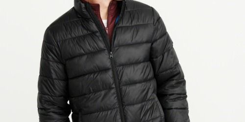 Abercrombie & Fitch Men's Puffer Jacket Only $43 (Regularly $140)