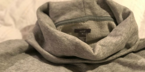 Aerie Turtleneck Sweatshirt Just $22.50 Shipped (Regularly $50) + More