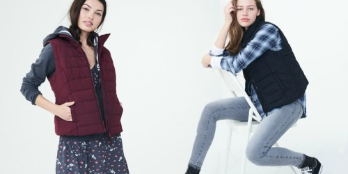 Aeropostale Girls Puffer Vests Only $11.87 (Regularly $50) – In-Store & Online