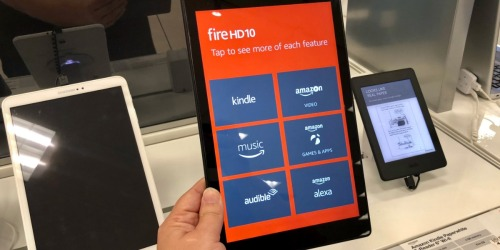 Amazon Prime: Fire HD 10″ 32GB Tablet Only $99.99 Shipped (Regularly $150) + More