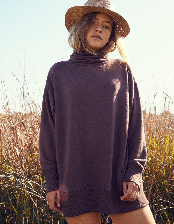 Aerie Turtleneck Sweatshirt Just $22 50 Shipped (Regularly